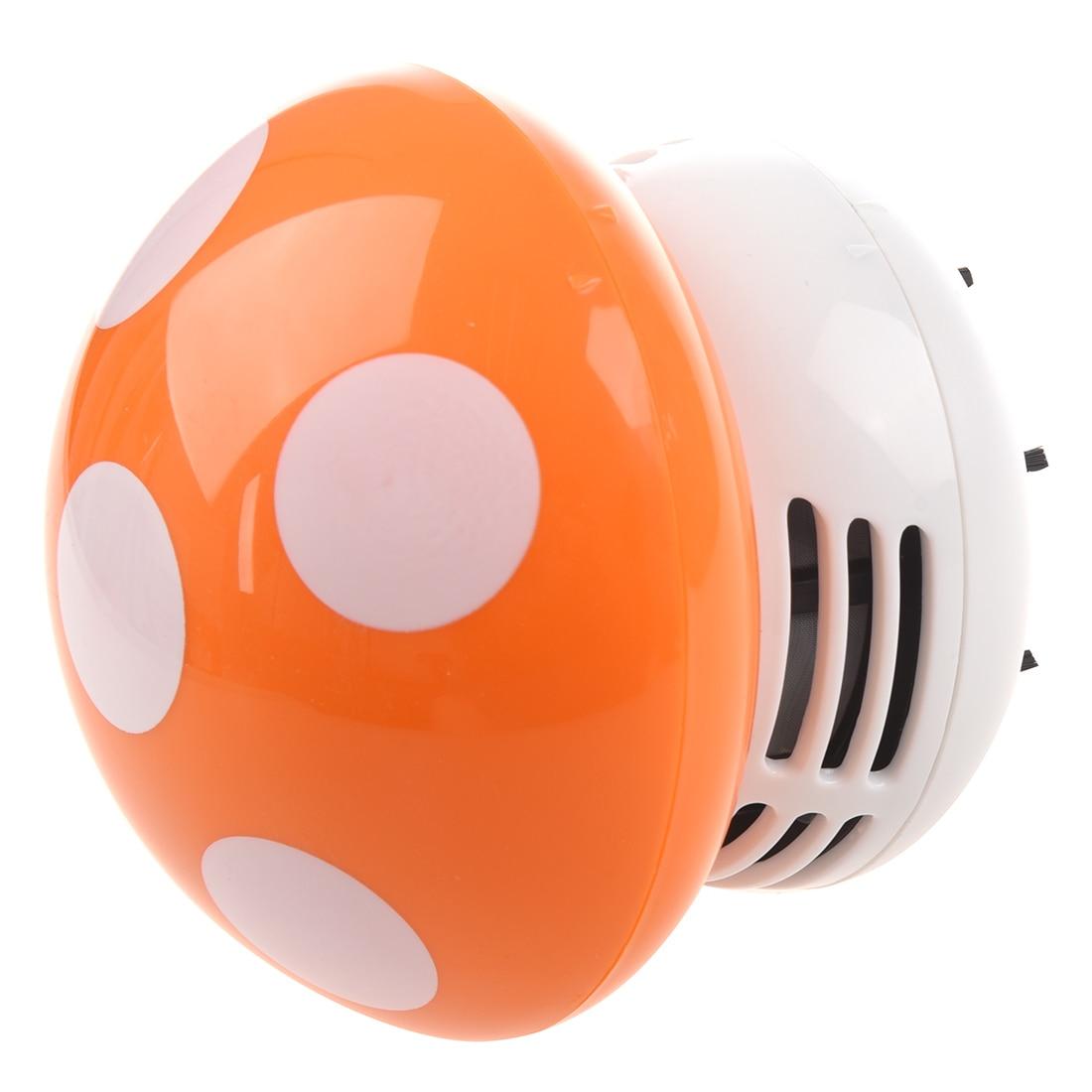 Haushaltsgeräte Sanft New Home Handheld Pilz Geformt Mini Staubsauger Auto Laptop Tastatur Desktop Staub Reiniger-orange Drop Verschiffen 100% Garantie Haushaltsgeräte