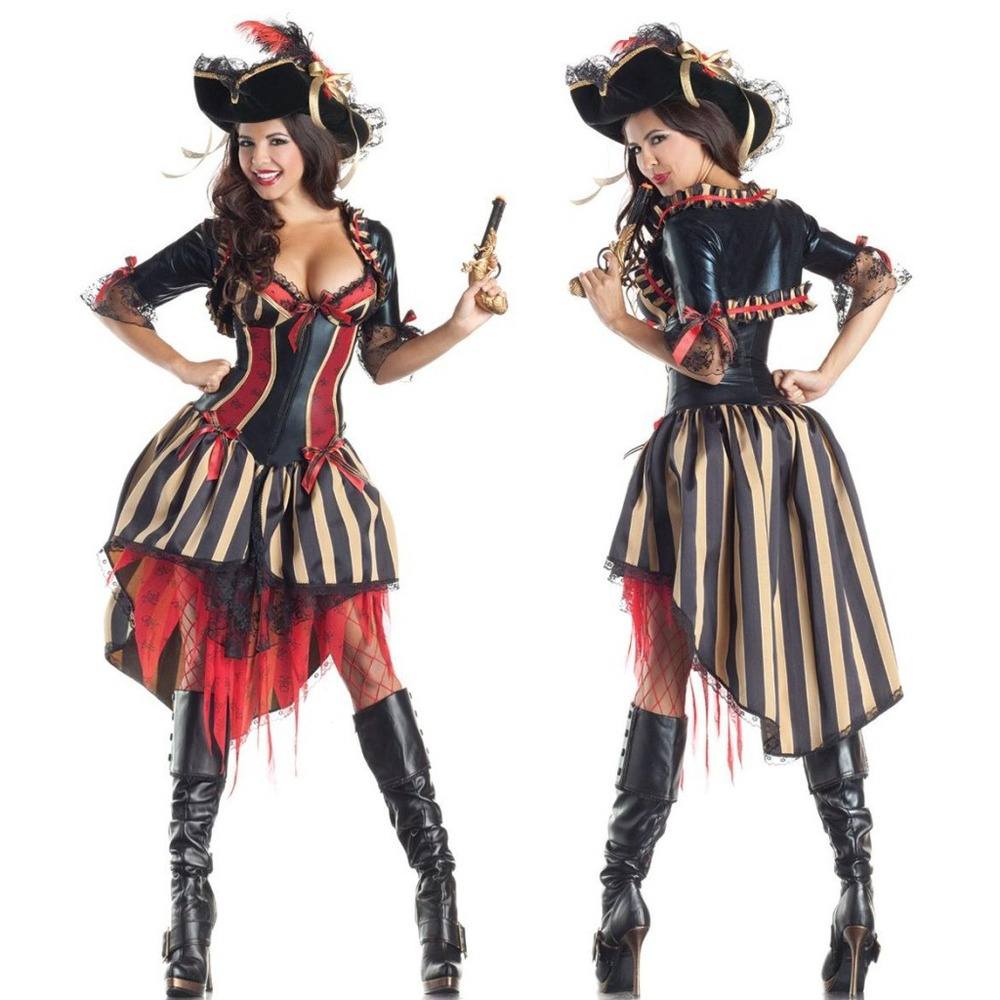 Popular Pirate Outfits-Buy Cheap Pirate Outfits lots from China ...