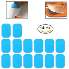 14Pcs Replacement Gel Pads Sheet Abdominal Belt Toning Muscl
