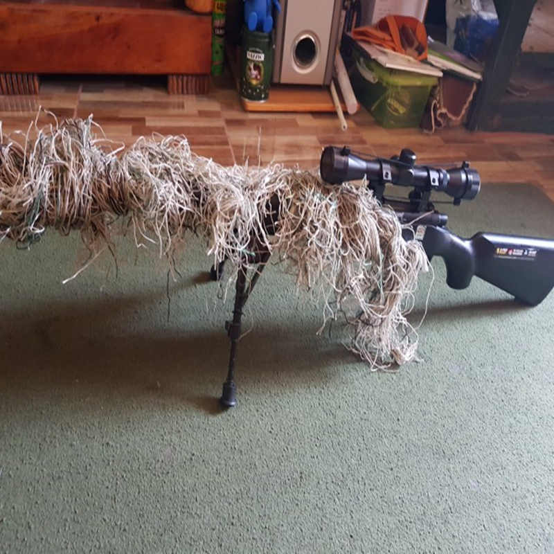 1,2 м страйкбольные охотничьи слепые веревки камуфляжные аксессуары для костюма из эластичного синтетического волокна Mlitary CS охотничьи слепые ружья обертывания