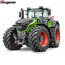 RC Truck Farm Tractor 2.4G Remote Control Trailer Dump/Rake 1:16 High Simulation Scale Construction Vehicle Children Toys Hobby