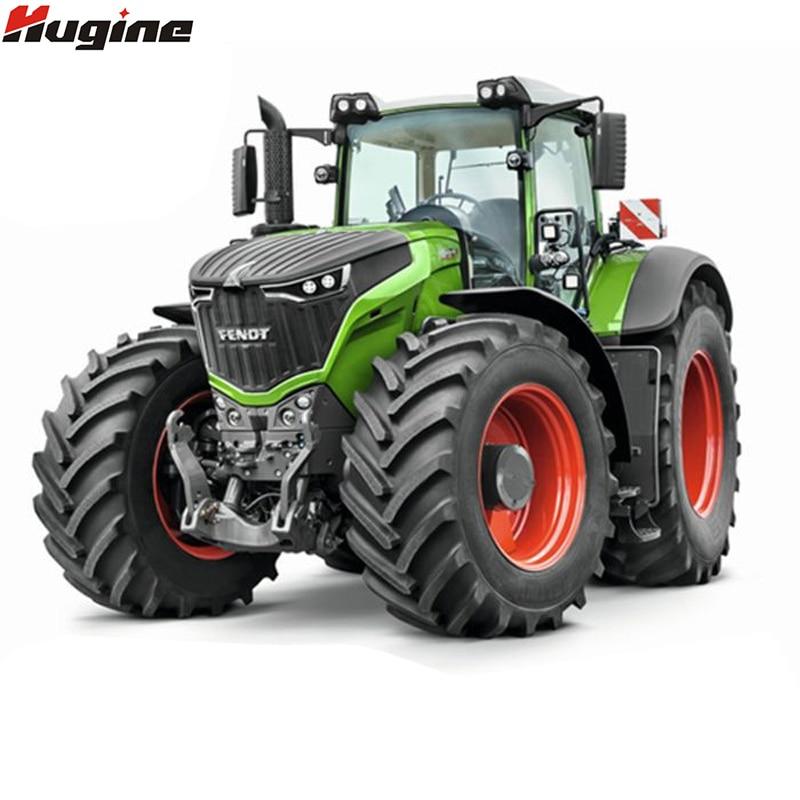 RC camión granja Tractor 2,4g Control remoto remolque volquete/rastrillo 1:16 alta escala de simulación vehículo de construcción niños juguetes Hobby