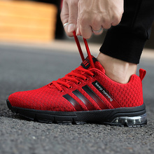 Running shoes for men with Breathable mesh