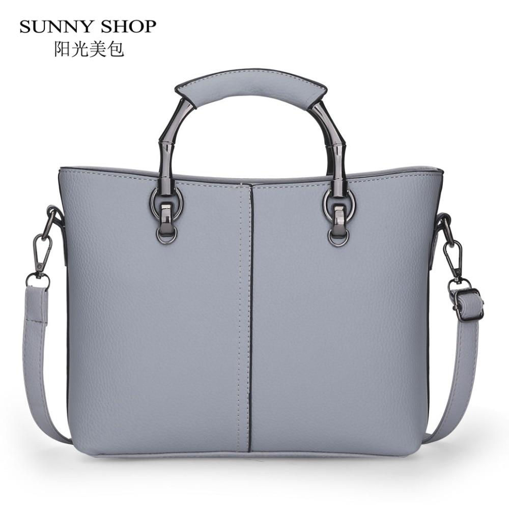 SUNNY SHOP Brand Designer Handbags High Quality Women Bag Women Leather Handbags