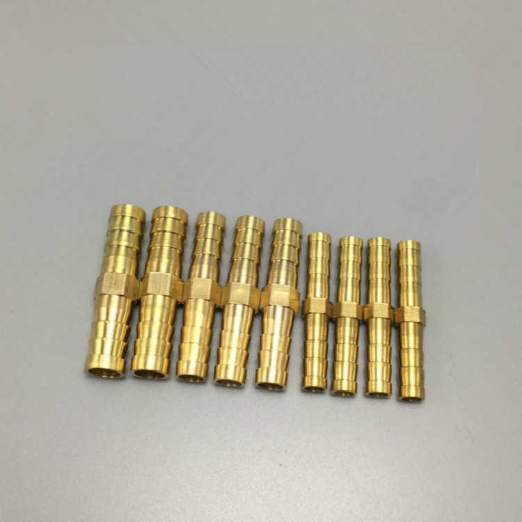 """1/8 """"1/4"""" 3/8 """"1/2"""" фитинг трубы x 6 8 10 12 14 16 19 мм штуцер под шланг с насечками редуктор фитинг мульти размер медь быстрое соединение U Тип"""