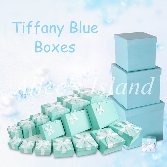 Online Shop 6pcsset Tiffany Blue Ideas Wedding Decoration Boxes