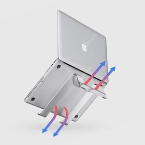 """Image 4 - Youpin IQUNIX Aluminium Laptop Ständer Halter Tablet Notebook Tragbaren Laptop Ständer Halter für 15 """"Macbook & Windows Computer"""