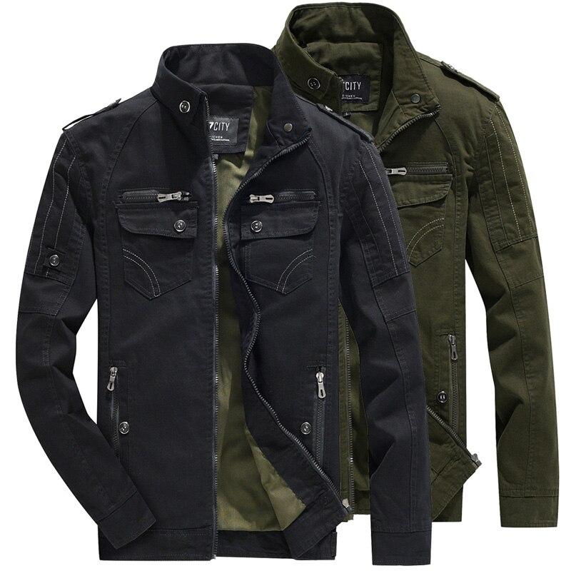Men's Hiking Jacket Military Aviator Jackets Breathable Light Windbreaker Jacket Zipper Stand Collar Men Tactical Milita Coat цена 2017