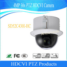 DAHUA Security CCTV Camera  4MP 30x PTZ HDCVI Camera IK10 Without Logo SD52C430I-HC