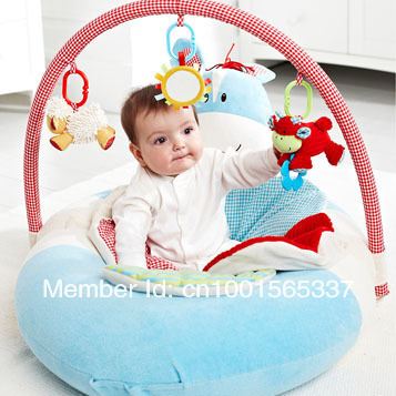 In Stock 1Pcs/Lot Free Shipping ELC Blossom Farm Sit Me Up Cosy-Baby Seat Mini Mouse Play Mat/Small Baby game pad Come with Pump