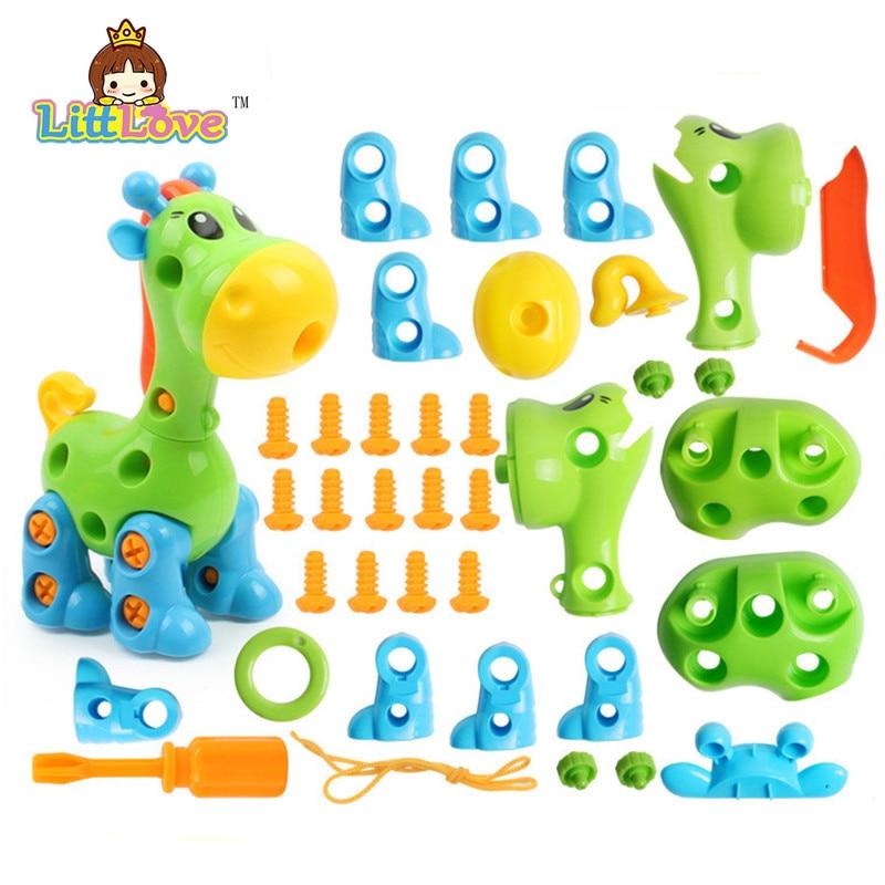 LittLove Dječje životinje Puzzle Obrazovne Igračke Djeca - Izgradnja igračke - Foto 3