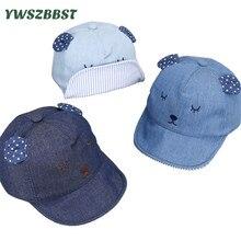 New Fashion Cowboy Baby Boy Sun Hat Summer Baseball Cap for Boys Caps with Rabbit ears Kids