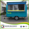 Customizable High Quality Mobile Fast Food Cart BBQ Trailer For Sale Long 2 5m 1 65