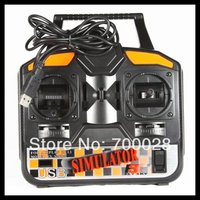 FS SM020 FLYSKY 4CH USB FMS RC Simulator check for RC Helicopter RC Airplane RC Glide