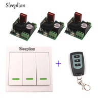 220V Wireless Switch AC 220V Receiver Wall Panel Remote Transmitter Mini Remote Control Family Lights Lamps