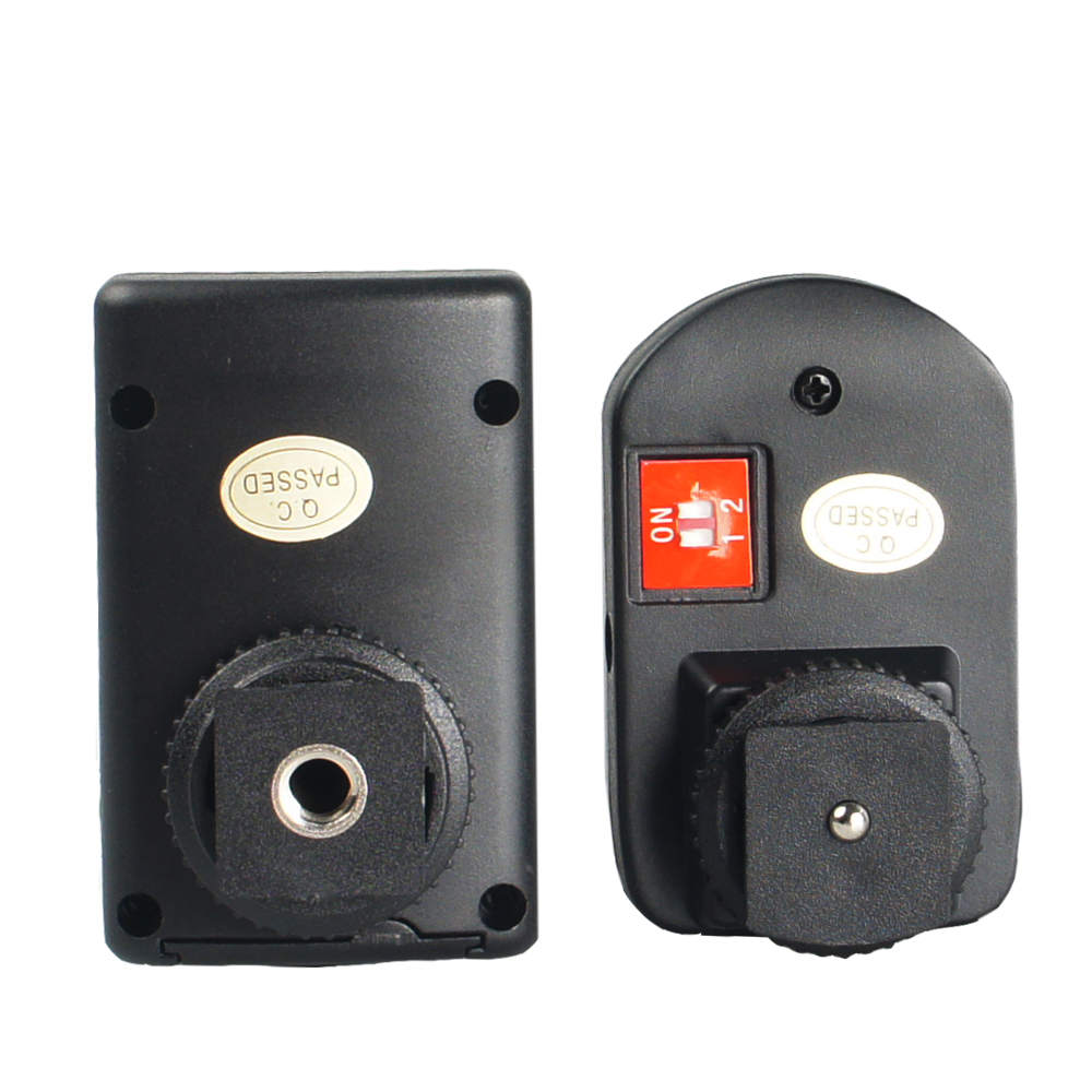 Wansen PT-04GY 4 canales inalámbrico remoto Speedlite Flash Trigger - Cámara y foto - foto 2