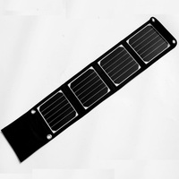 Sunpower 14W Foldable Solar Charger For IPhone Mobile Phone Camping Travel Dual USB Battery Charger NEW