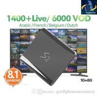 S2 1 Jahr Code 1400 iptv NOKETV Abonnement TV Box Smart Android 8.1 Media Player Mini TV kanal IPTV Set Top box-in Digitalempfänger aus Verbraucherelektronik bei