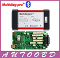 2014 Release2 CD Multidiag Pro with Bluetooth diagnostic unit Best Green Single Board PCB Chip Motherboard Same As TCS CDP Pro+