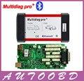 2014 Release2 CD unidad de diagnóstico Multidiag Pro con Bluetooth Mejor verde Sola Placa PCB Placa de Chips Mismo Como TCS CDP Pro +