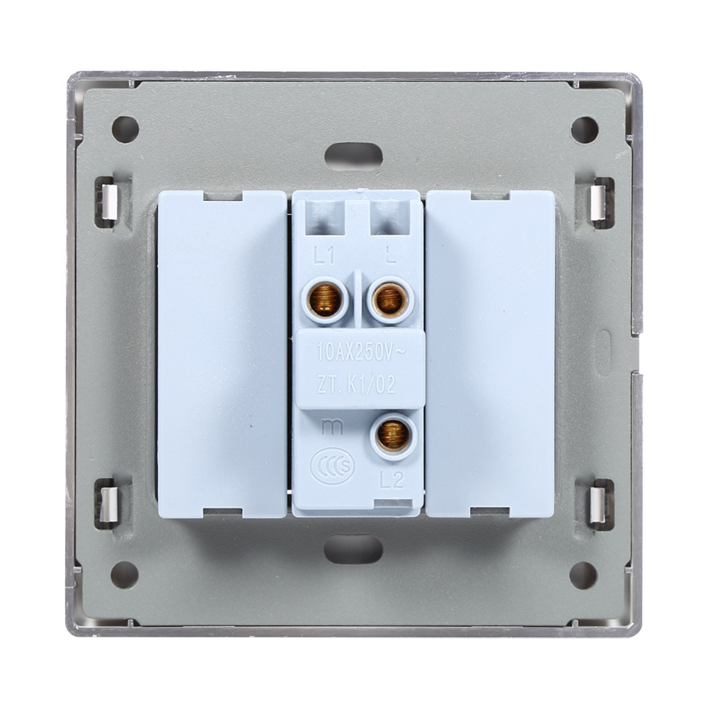 1 2 3 4 Gang Way Light Switch 250v 10a Led Indicator Wall What Is A Lamp Control Panel Push Buttons In Switches From Lights Lighting On