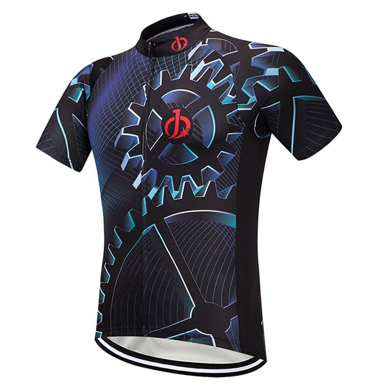 Moxilyn Clothing Bicycle-Wear Short-Sleeve Bike Jersey-Top-Summer Cycling Riding MTB