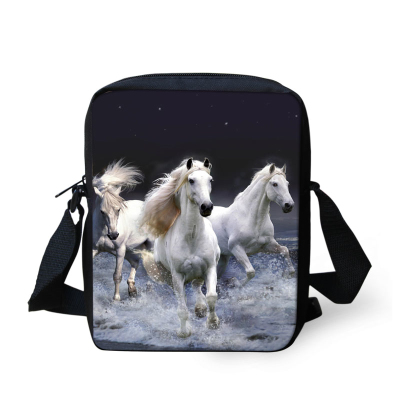 Animal 3D Crazy Horse Children School Bags for Boys Zoo Kids Schoolbag Mens Travel Casual Bag Baby Kindergarten Bookbag Mochila