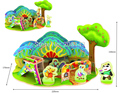 The Forest Kindergarden 3D Wooden Puzzle Great Gift for Your Children Hot Selling
