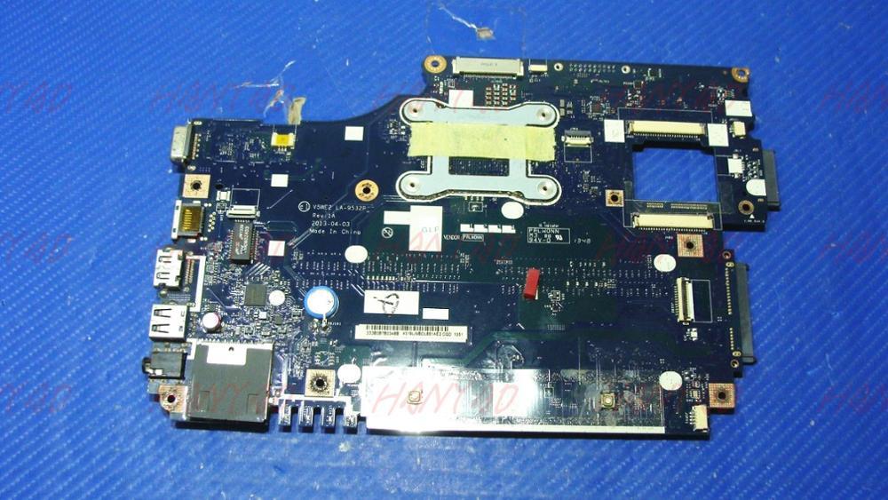 For Acer aspire E1-572 E1-532 E1-572G laptop motherboard NBMFM1100E V5WE2 LA-9532P 2957U CPU DDR3L Free Shipping 100% test okFor Acer aspire E1-572 E1-532 E1-572G laptop motherboard NBMFM1100E V5WE2 LA-9532P 2957U CPU DDR3L Free Shipping 100% test ok