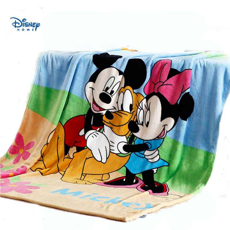 disney sweet minnie mouse girl blanket cute mickey print cover bed liens 150*200cm soft Coral Fleece blanket children home decor