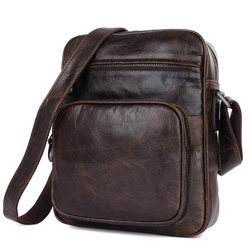 Genuine Leather bag men bags Messenger Bags male small flap Vintage Leather shoulder crossbody bags for men Handbags contact s genuine leather men bag male shoulder crossbody bags messenger small flap casual handbags commercial briefcase bag