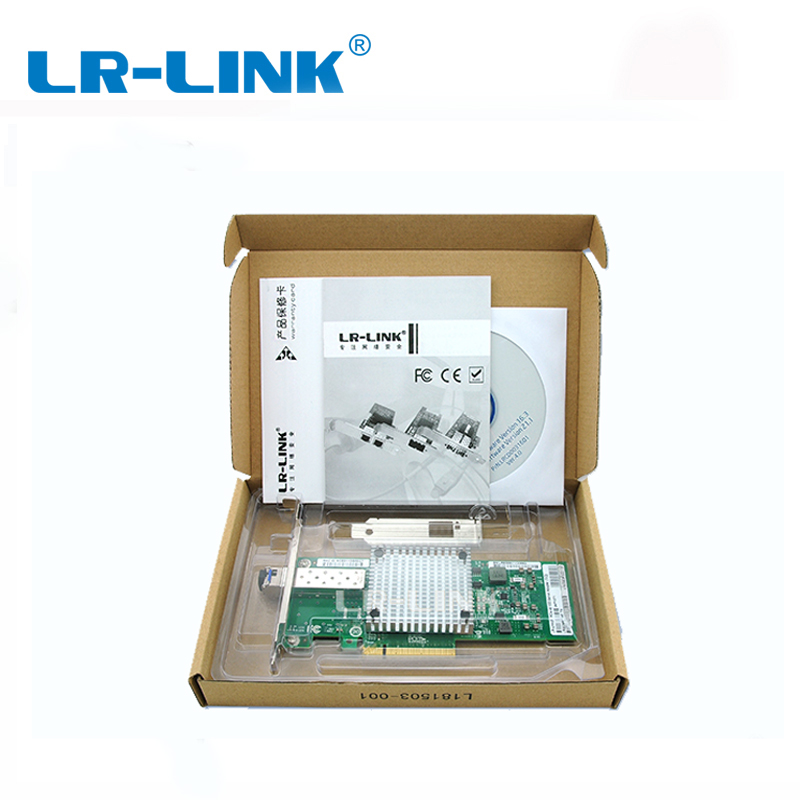 Image 5 - LR LINK 9801BF TX/RX 2PCS 10 Gigabit Ethernet Card Fiber Optical Server Adapter PCI Express Network Controller Intel 82599 NIC-in Networking Storage from Computer & Office