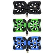 Осьминог миру всему cooler охлаждения порт вентилятор pad ноутбук usb мини