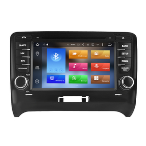 "Image 5 - 7"" IPS Android10.0 car DVD Player For Audi TT 2006 2012 Car Stereo 2 Din Audio Radio GPS Navigation Bluetooth FM WiFi Multimedia"