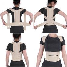 Mulher ortopédica ortopédica de volta cinto ortopédico cinta corrector postura ajustável suporte coluna lombar cinta