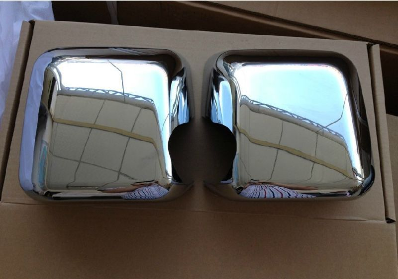 Chrome side mirror cover Trims for Jeep Wrangler JK 2007 2014