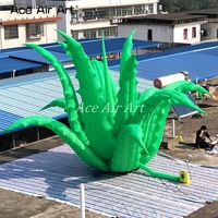 new design awesome 8 m diameters standing giant plants Inflatable grass aloe vera for event,party decoration