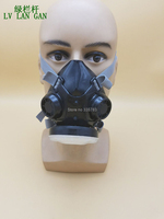High Quality Respirator Dust Mask Spiral Filter Cotton Sold Separately Dust Smoke PM2 5 Particles Respirator