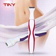 TINY Women Shaver Razor Hair Removal Female Shaving Machine Electric Rechargeable Mini Lady Bikini Shaver