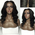 7A Silk Base Body Wave Malaysian Virgin Hair Glueless Lace Front Wig 4*4 Silk Top Best Cheap Full Lace Human Hair Wigs