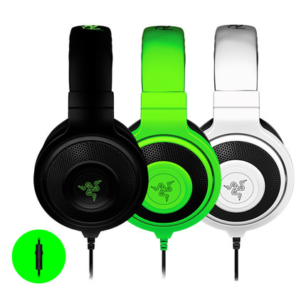Original-Razer-Kraken-Pro-Gaming-Headset-Game-Headphone-Computer-Headphones-Noise-Isolating-Earbuds-Green-Black-White (2)