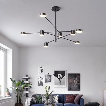 Moderne Led Kronleuchter Wohnzimmer Ausgesetzt Lampe Nordic