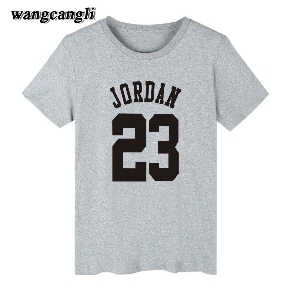 T shirt design jordan - Aliexpress Com Buy 23 Jordan T Shirt 2017 Fashion Printed 70 Cotton Short Sleeve Couple T Shirt Design Jordan Men S Clothing O Neck Xs 4xl T Shirt From