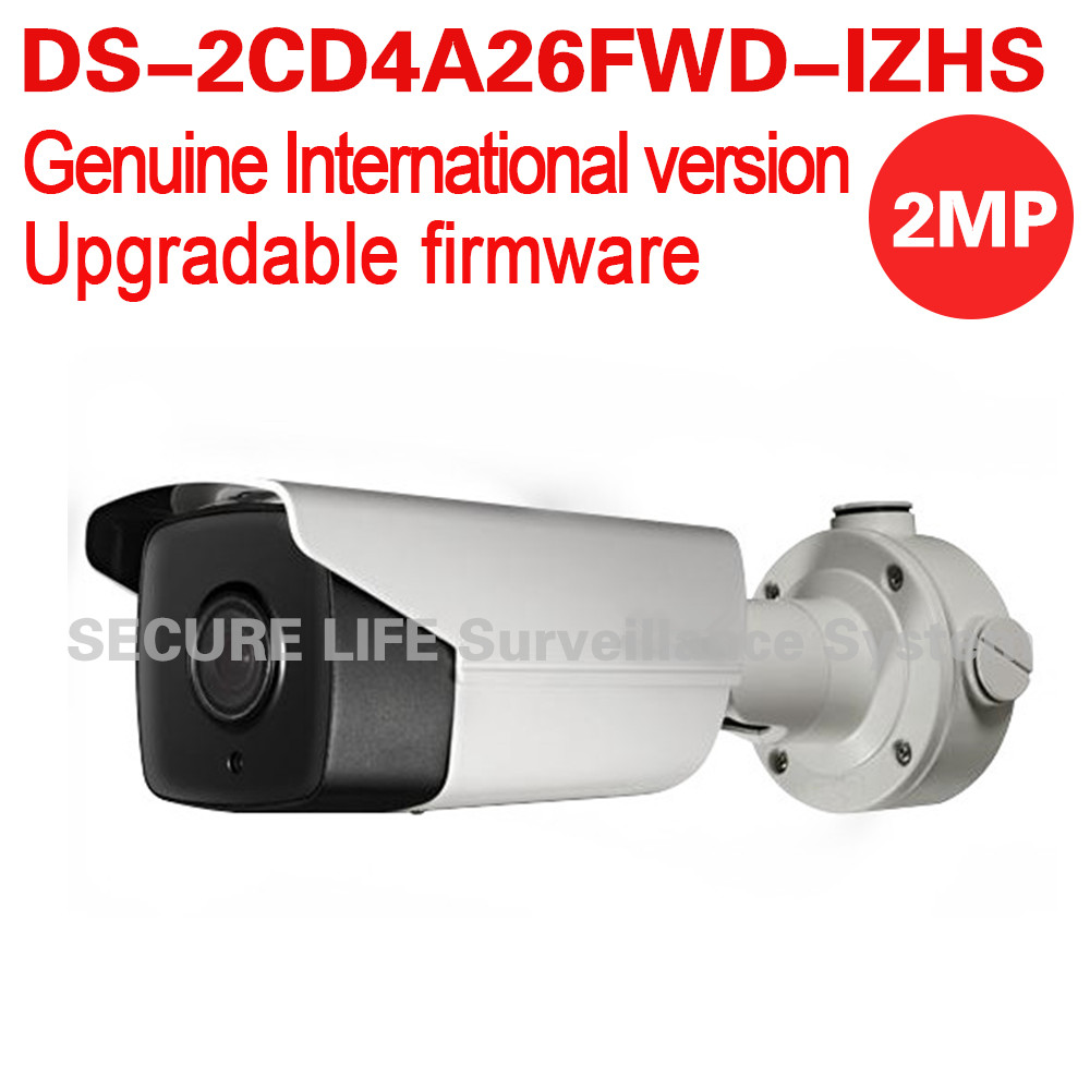 DS-2CD4A26FWD-IZHS English version 2MP Low Light Smart bullet cctv Camera POE LPR 50m IR with mortorized VF lens and heater ds 2cd4a26fwd izh english version 2mp low light smart bullet ip cctv camera poe lpr 50m ir mortorized vf lens heater no audio