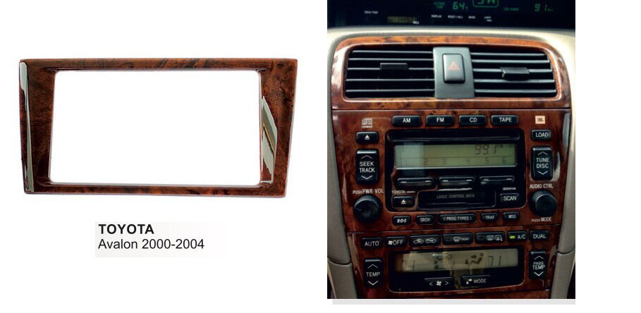 Double Din Audio Fascia For Toyota Avalon 2000 2004 Stereo Radio Gps Rhaliexpress: 2003 Toyota Avalon Radio At Gmaili.net