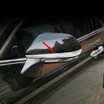 ABS хром для Toyota Avalon 2018 2019 автомобиля зеркало заднего вида украшения полосы крышка отделка стикер автомобиля Стайлинг Аксессуары 2 шт./компл.