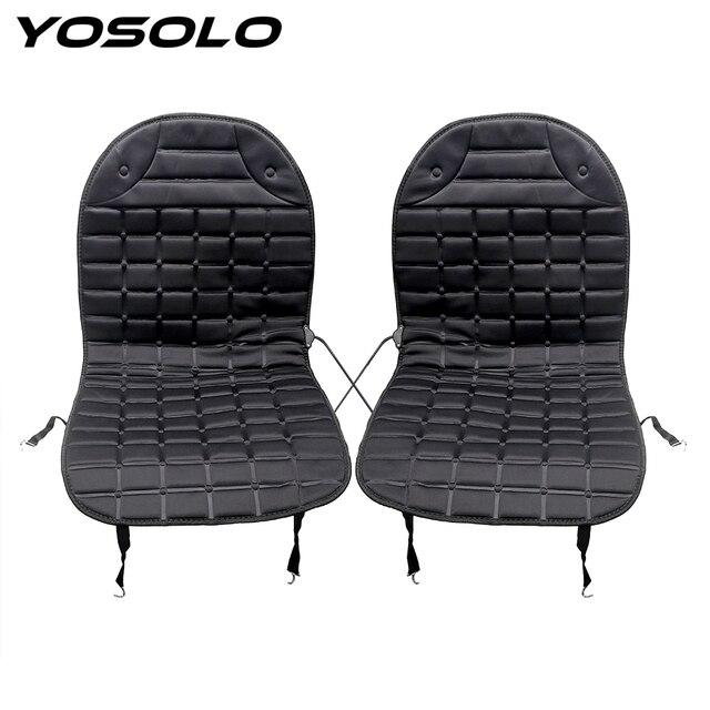 yosolo winter supply electric heated heater warmer car seat cushion