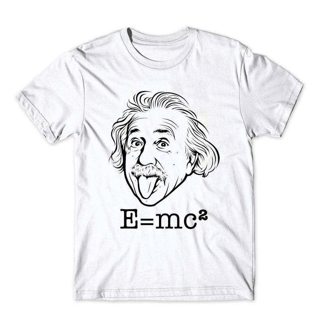 Comical Albert Einstein T Shirt Men Put His Tongue Out