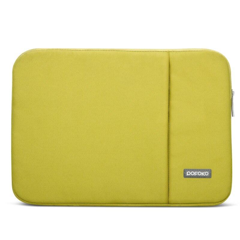 POFOKO Laptop ujjú táska Vízálló notebook táska tok Anti-sokk - Laptop kiegészítők - Fénykép 5