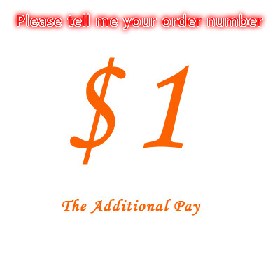 $1 Additional Pay On Your Order For Price Difference